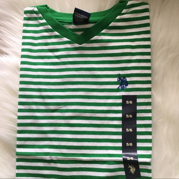 Khaki Boys/' 3 Piece Set Size 4,5,6,7 Polo Assn Red T-Shirt U.S Navy Shirt